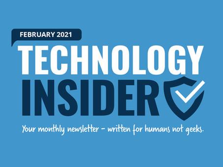 Schwalm Tech's Monthly Newsletter - Feb 2021