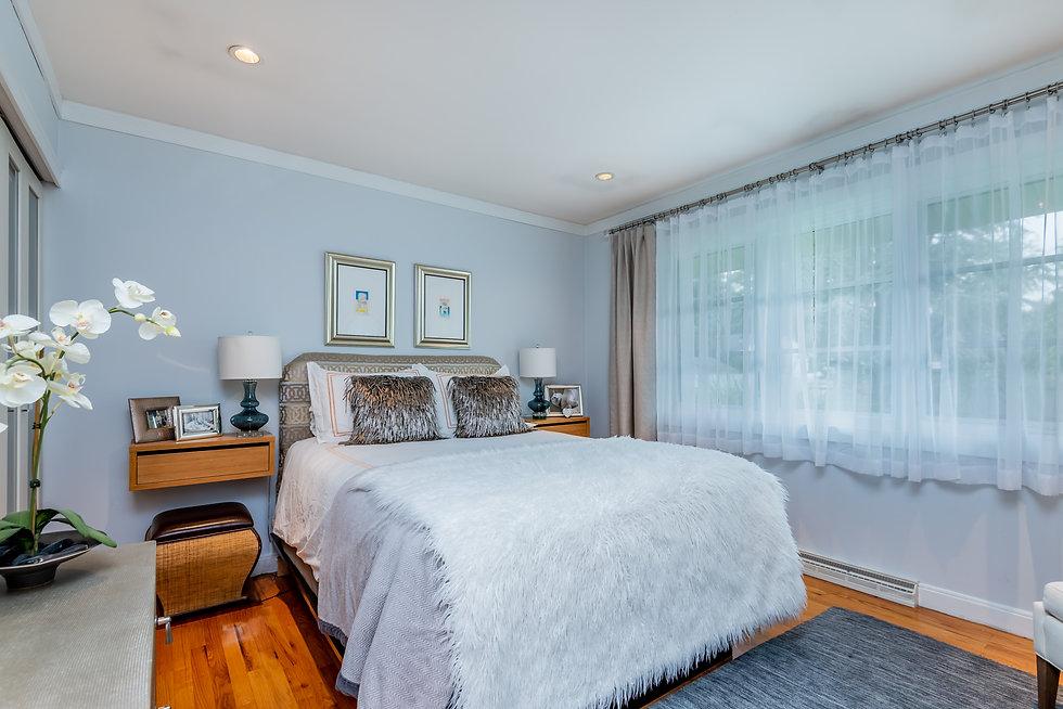 master bedroom Margie Stapf Interiors Ce