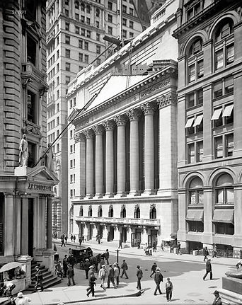 Invariant Investment Management Commercial Photography Branding of Wall Street