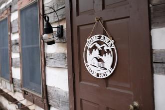 Red Mill Monogram Cabin Door Sign.jpg
