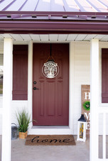 Red Mill Monogram Family Porch Decor Tre
