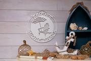 Red Mill Monogram Nautical Boat Decorati