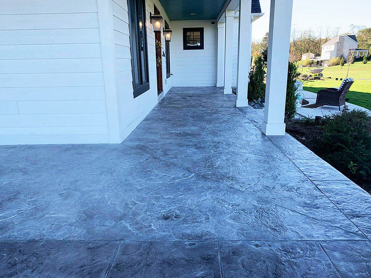Stamped Concrete Harrisburg Central PA H
