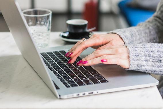 Virtual Admin Typing Transcription Centr