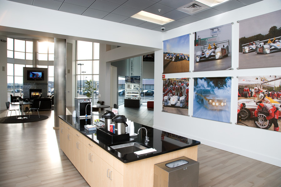Commercial Interior Design Car Dealership Central PA Interior by Margie Stapf Interiors
