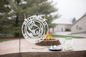 Red Mill Monogram Camp Fire Camping Weat