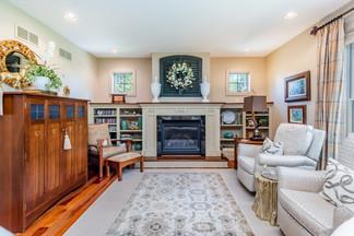 living room Margie Stapf Interiors Centr