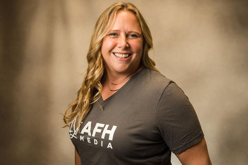 Photographer Jodi Major of AFH Media Owner Headshot