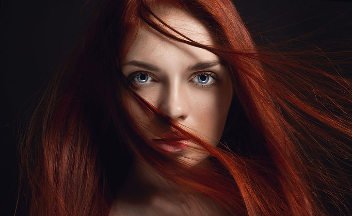 beautiful model with modern color from annex hair studio