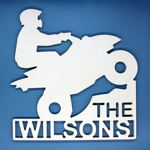 Person Four Wheeling