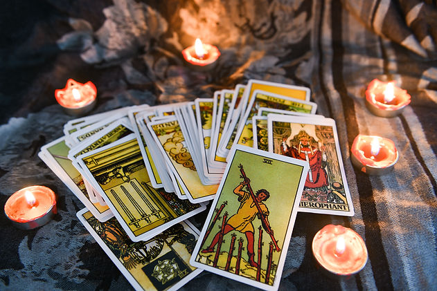 Tarot Card Angel Readings in Harrisburg PA with Flowing Heart and Lisa DiVittore Angel Card Image for Website