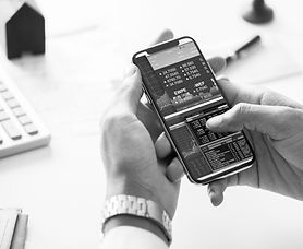 phone stock market business finance bw.j