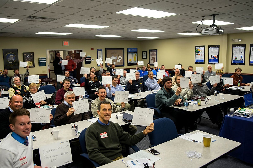Sales Training Class for the Foundations Sales Mastery Course in Central PA