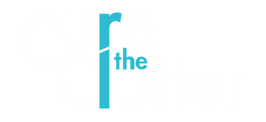 Cure the Clutter Logo with Transparent B