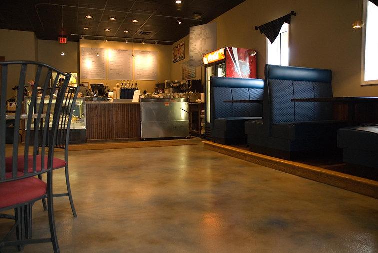 restaurant custom concrete flooring central pa
