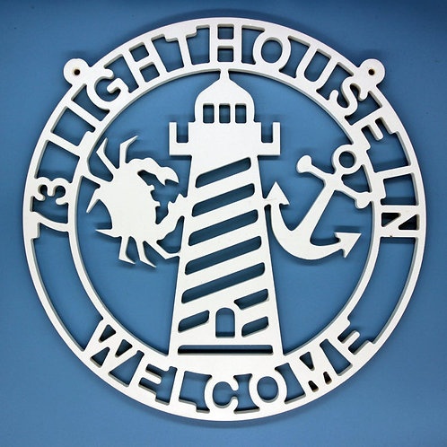 Crab / Anchor / Lighthouse