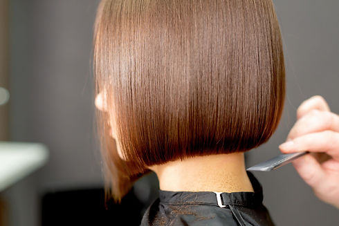 Cut and Finish for Short Hair Model in Annex Hair Studio in Newville PA