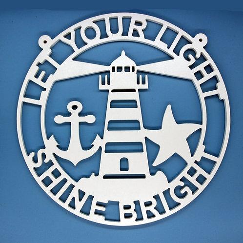 Shining Lighthouse / Anchor / Starfish
