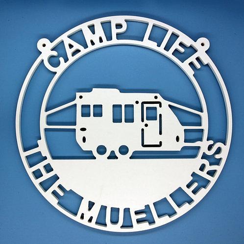 Pop Up Camper in Circle 2