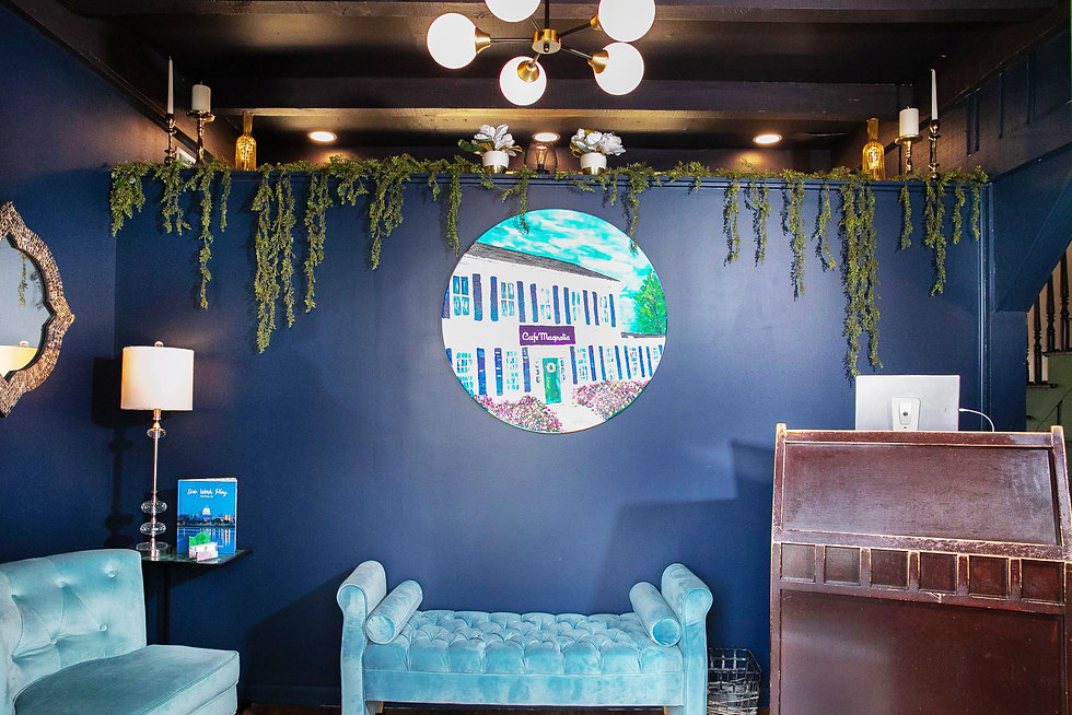 Cafe Magnolia Commercial Interior Design by EJ Designs