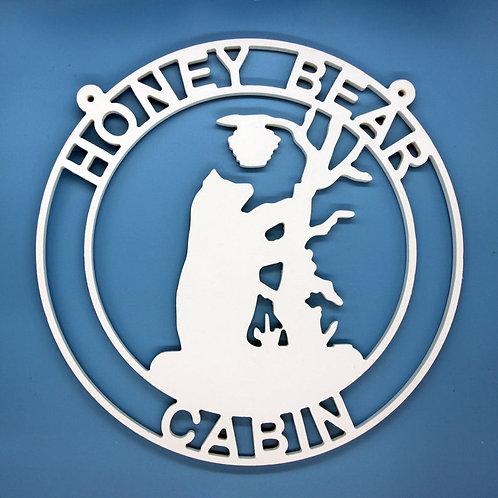 Bear Climbing for Honey