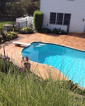 pool concrete surround south central pa.