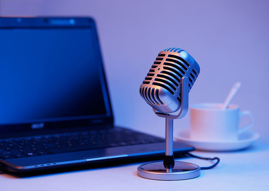 Microphone used by Bret Keisling at the EO Podcast Network