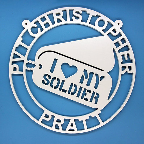 Dog Tags/Soldier