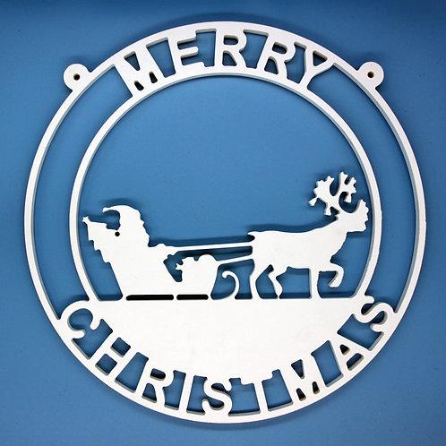 Santa Claus/Sleigh/Reindeer/Christmas