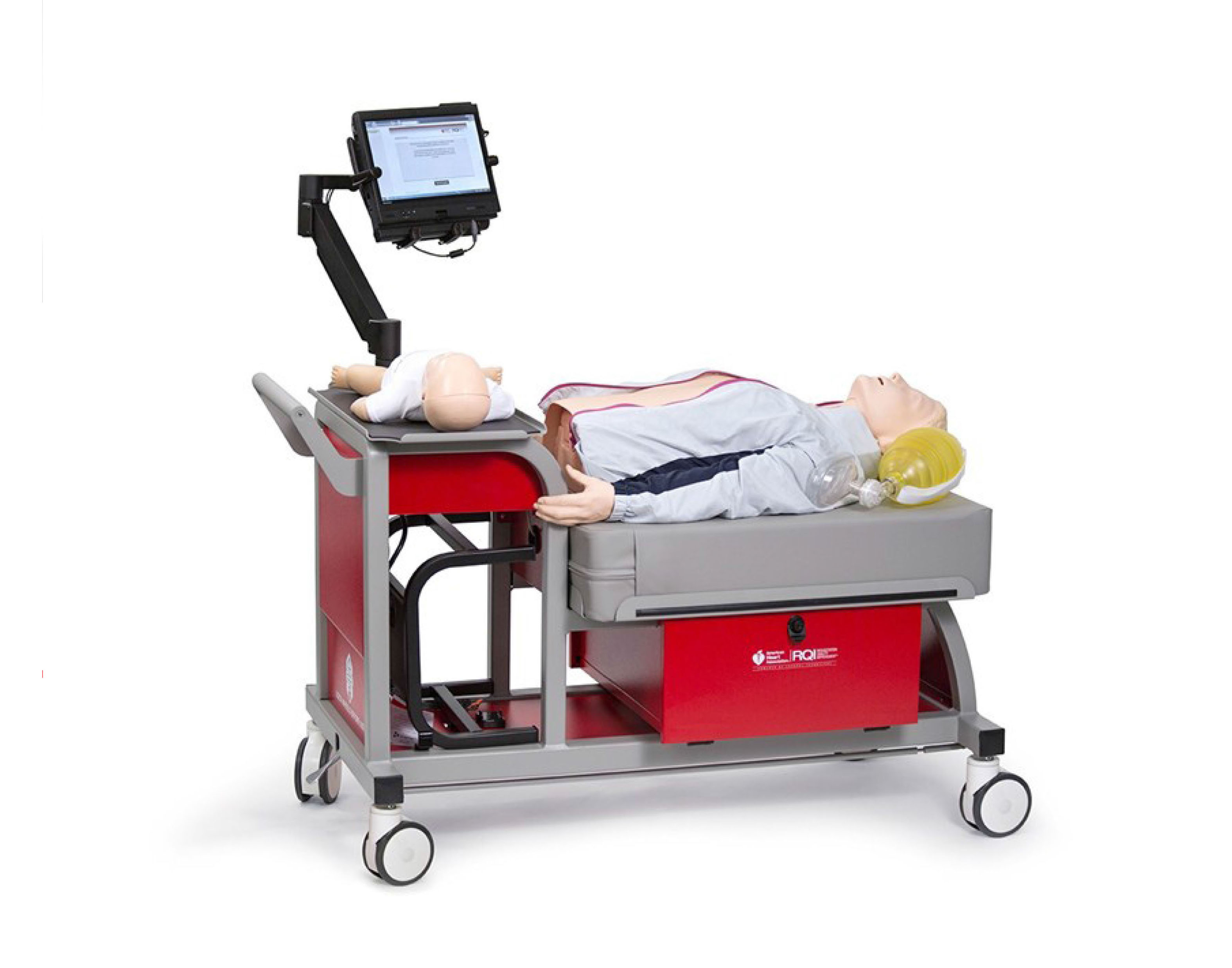Laerdal CPR Training Cart