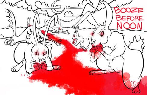 Rabbits vs Moose .jpg