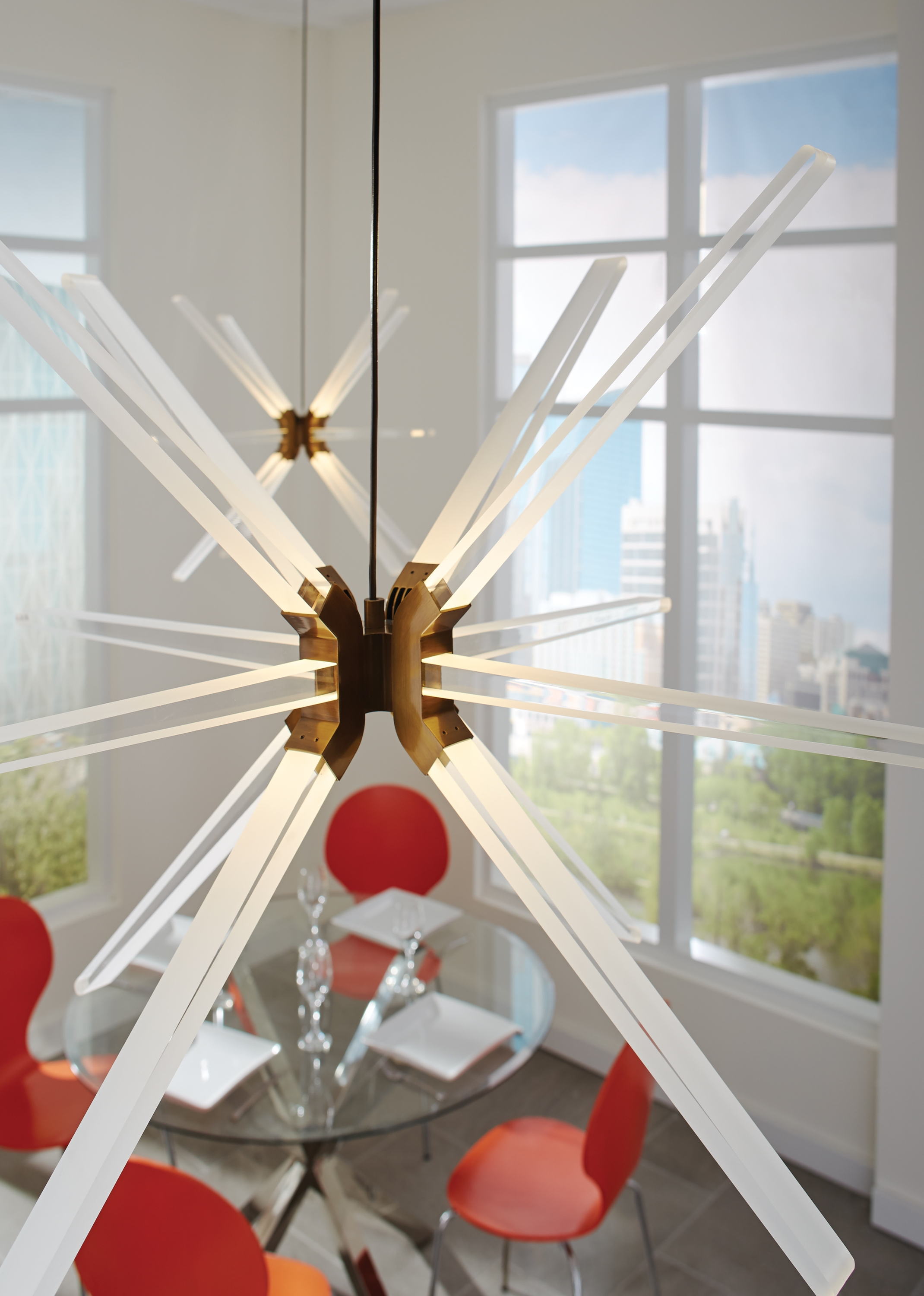 LBL Photon Chandelier