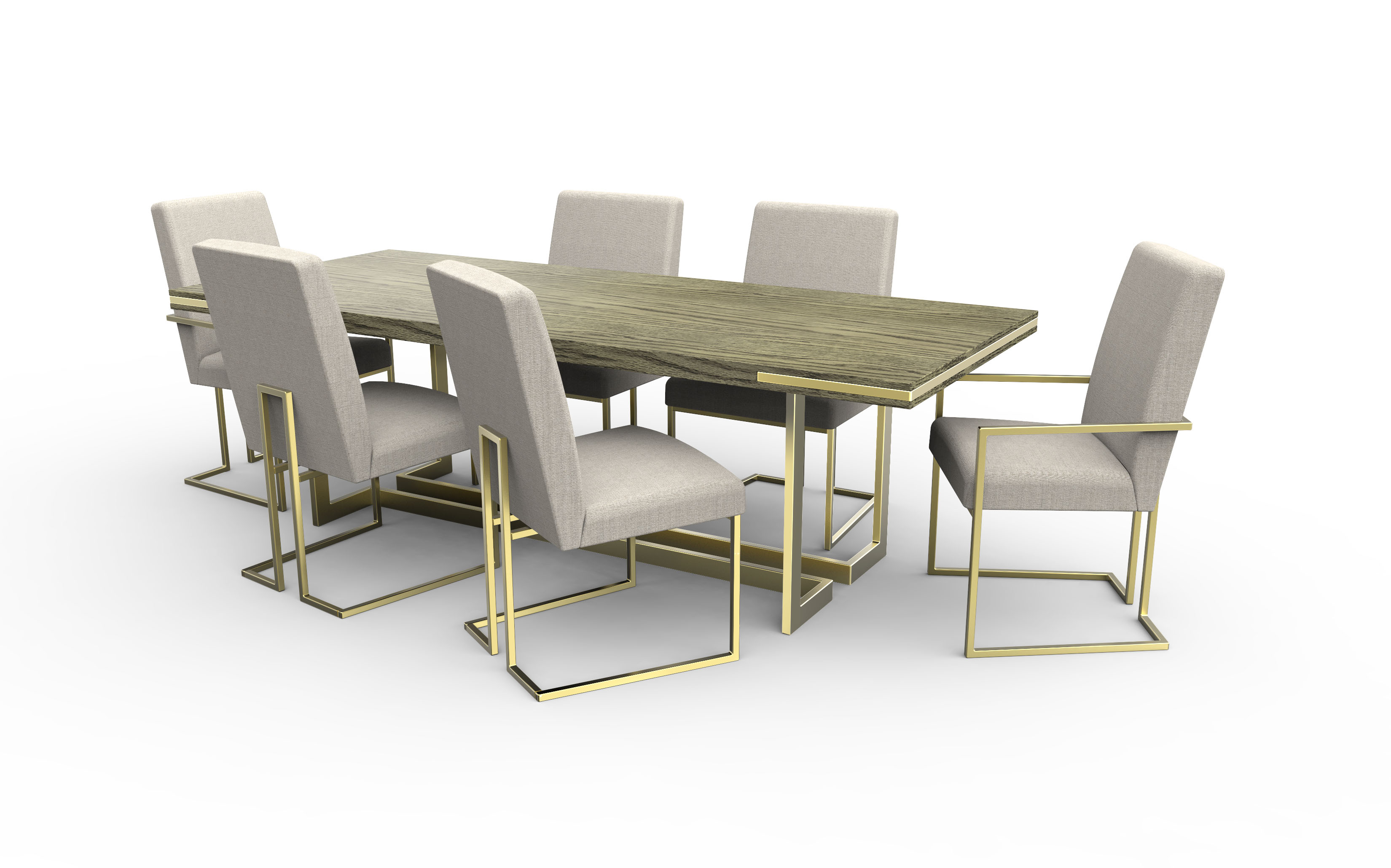 Modern Mix Dining Set