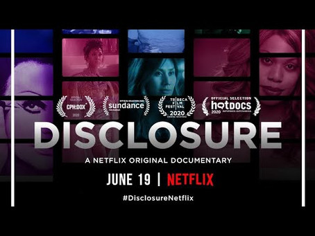 Disclosure - if you only watch one documentary this year, let it be this one.