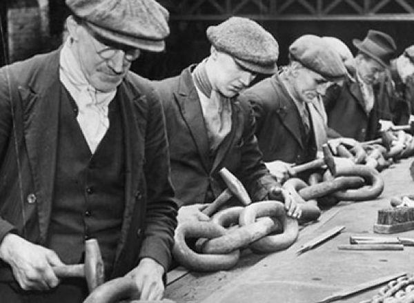 Linha de Montagem da Ford em 1928