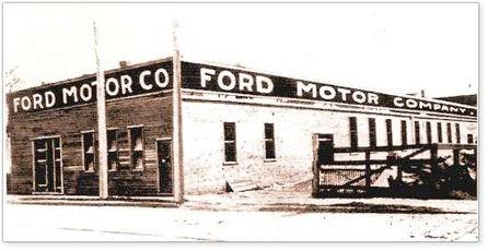 Fábrica da Ford em Detroit