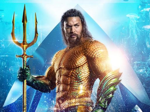 Acabou a espera! 'Aquaman' chega aos cinemas brasileiros