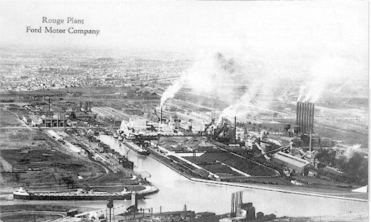 River Rougue Detroit