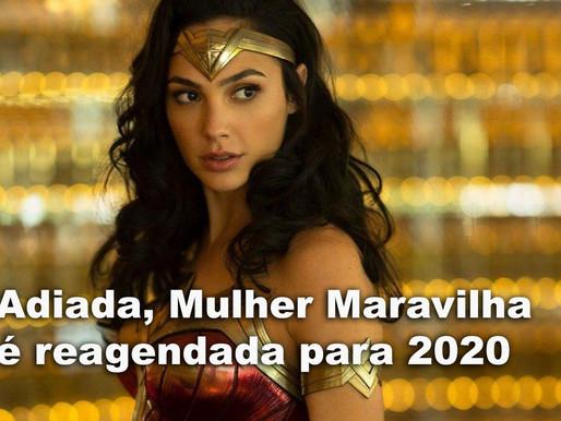 Adiada, sequência da Mulher Maravilha é reagendada para 2020