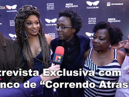 """Entrevista exclusiva com o elenco do          """"Correndo Atrás"""""""