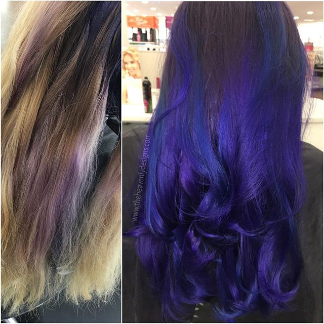 😏 🤗 #mypassion #myart #wwwtheheavenlydesigns #pravana #sanfordfl #behindthechair #color #vivids #c