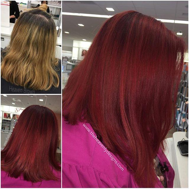 💋 #redken #color #behindthechair #backtoschool #myart #modernsalon #mypassion #neverwork #schooltim