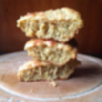 corn bread made with organic corn meal