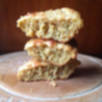 corn bread made with organic corn meal