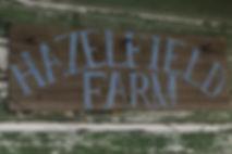 Hazelfield FarmSign