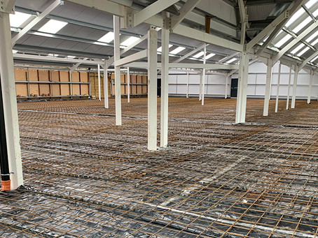Groundworks project for Haddenham Garden Centre