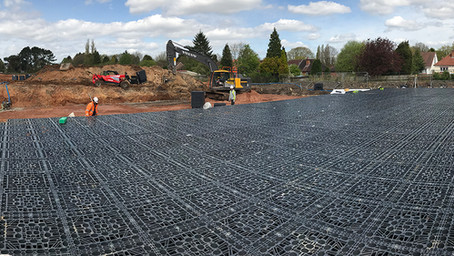 Stormwater attenuation solution at Bournville RFC