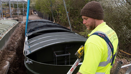 Installation of sewage treatment plant at Planters