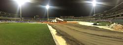 HBF Stadium Perth Clay Delivery
