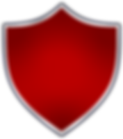 Full-Enclosed-Shield-Solid-Red-with-Grey